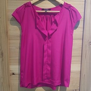 10 Cooper fuscia silky blouse